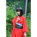 空の境界 殺人考察(前) 両儀式(りょうぎ しき) 赤い着物 コスプレ衣装