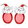 サンタメガネ クリスマスメガネ パーティー用変装メガネ パーティグッズ