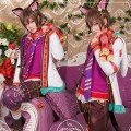 夢王国と眠れる100人の王子様 不思議の国 チェシャ猫 不思議のクリスマス イベント コスチューム