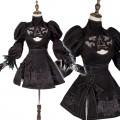 ニーア オートマタ ヨルハ 2B  コスプレ衣装 黒 ドレス
