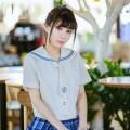 Jk制服  札幌襟 短袖  夏物 日常用 女子制服 通学 日常用 衣装
