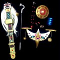 コスプレ道具 コスプレ用武器 装備 モノノ怪 薬売りの退魔の剣 刃 鏡 リング ネックレス シュシュ