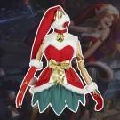 リーグ・オブ・レジェンド lol ジンクス 新スキン クリスマス サンタ衣装 コスプレ衣装