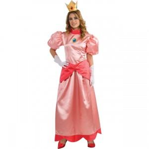 スーパーマリオ ブラザーズ ピーチ姫 コスプレ 衣装 ピーチ姫 大人用 コスプレ コスチューム