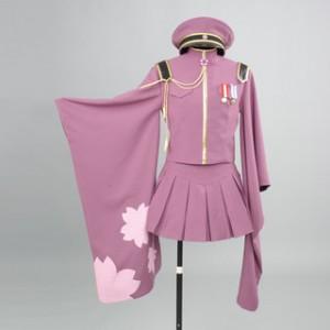 VOCALOID 千本桜 初音ミク 高品質コスブレ衣装 豪華セット