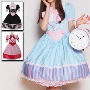 キャンディー フェアリーハートドレス  ゴスロリロリータパンクコスプレコスチュームメイド衣装