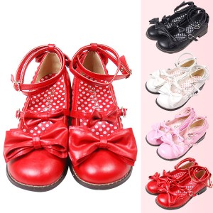 Alice Cafe3つリボンが可愛い・プリンセスリボン★ロリータ靴★アンクルおでこパンプス S/M/L衣装