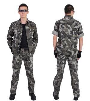第101隊アーミー 迷彩服上下セット上品 カジュアル メンズ