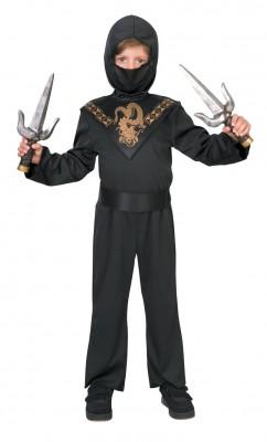 日本勇士忍者コブラスーツ  ハロウィン 衣装 仮装 子供用 ハロウィン コスチューム コスプレ(男の子)