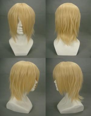 Final Fantasy13 FF13 ファイナルファンタジーXIII風 スノウ・ヴィリアース風 コスプレウィッグ
