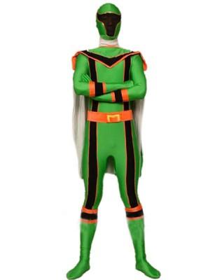 グリーン スパンデックス ライクラ 戦闘員 全身 タイツ衣装