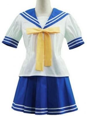 らき☆すた セイラー服 コスプレ衣装 ハロウィン コスチューム衣装