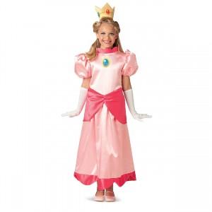 衣装 コスプレ コスチューム スーパーマリオブラザーズ ピーチ姫 ハロウィン 衣装 子供衣装