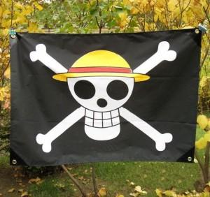 麦わら海賊旗 【フラッグ】 ONE PIECE ワンピース