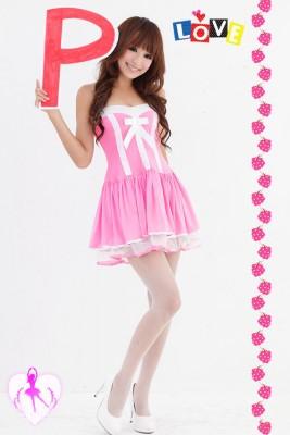 可愛いプリンセスライン 洋服 礼服 イブニングドレス コスチューム バーディー ステージ衣装  セクシードレス