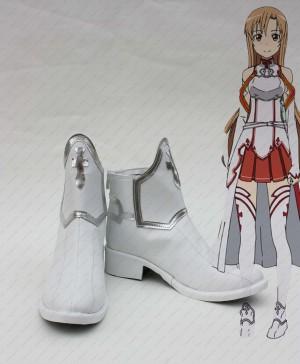 ソードアート・オンライン コスプレ靴ブーツ アスナ/結城明日奈