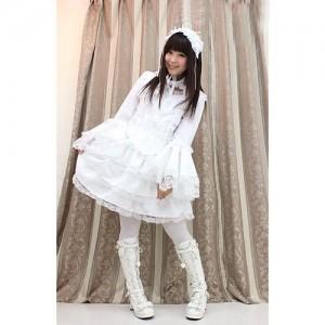マリアドレスホワイト衣装 サイズ:M/BIG 色:白