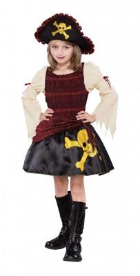 パイレーツ・オブ・カリビアン  ガール 子供用 ハロウィン 衣装 コスプレ コスチューム 海賊 衣装