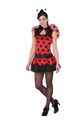 ハロウィーン 衣装  パーティー ハロウィン・コスチューム 可愛いナナホシテントウ服装 コスプレ衣装