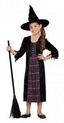 【ハロウィン衣装子供用】 ウィッチ 魔女 キッズコスチューム ハロウィンコスチューム