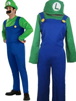 コスプレ衣装販売スーパーマリオブラザーズルイージマリオ衣装 まりお