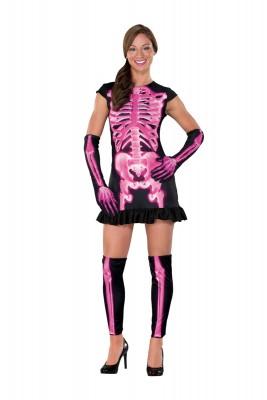 ハロウィーン 衣装  パーティー ハロウィン・コスチューム 恐怖の赤いX光髑髏衣装 コスプレ衣装