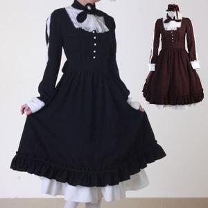 オーリーゼ ミニハット付カメオロングドレス衣装