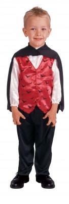 子供用 ヴァンパイア衣装 マント付き ハロウィン 衣装 仮装 ハロウィン コスチューム コスプレ(男の子)