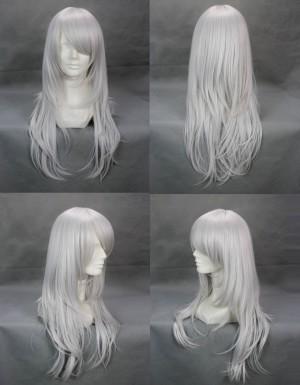 ナルト かぐやきみまろ マイクロ巻で厚くする 長い前髪 ロングコスプレウイッグ