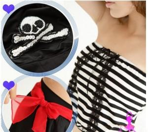 新品レディース海賊衣装 DS演出コスチューム コスプレ衣装