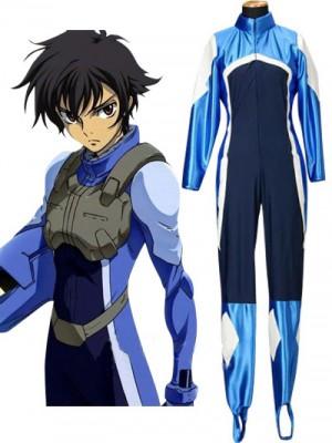 コスプレ衣装 機動戦士ガンダムSEED キラ・ヤマト ジャンプスーツ ブルー