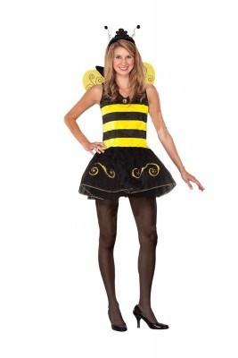 ハロウィーン 衣装  パーティー ハロウィン・コスチューム 大人用 ミツバチ式女王衣装 コスプレ衣装