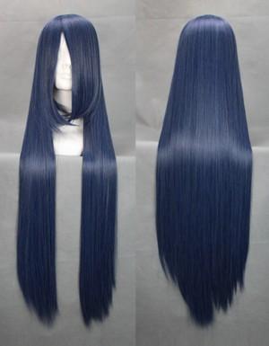 高品質耐熱コスプレウイッグ NO.6 ネズミ ロングストレートヘア