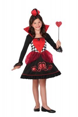 ハロウィン 衣装 ハートキングクィーン 子供用 コスチューム