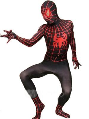 ライクラ スパンデックス スパイダーマン 全身 タイツ衣装