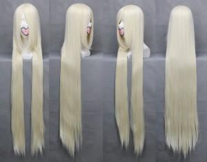 ちょびっツChobits ちぃちゃん 長い前髪 ストレート コスプレウイッグ