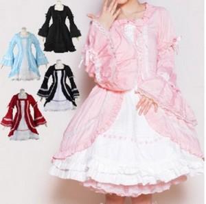 オッティ クラシカル宮廷ドレス  ゴスロリロリータパンク・コスプレコスチュームメイド衣装