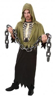 ハロウィーン 衣装 パーティー ハロウィン・コスチューム コスプレ衣装 大人用髑髏衣装