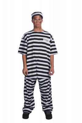 ハロウィーン 衣装 パーティー ハロウィン・コスチューム コスプレ衣装 男性衣装 囚人服装