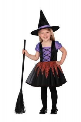 ハロウィン子供用コスチューム ウィッチガール メロディドレス