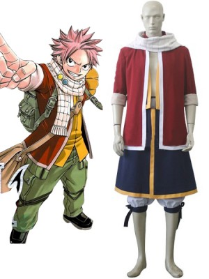 Fairy Tailフェアリーテイル ナツ・ドラグニル コスプレ衣装