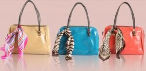 エナメル カラー トートバッグ 2013新作 韓国派 レディースファッション