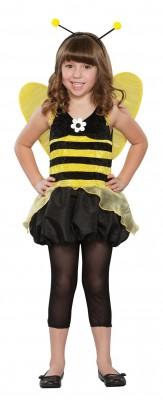 ハロウィン 衣装 子供用 みつ蜂 可愛いガールコスチューム 妖精 ちょうちょ 羽