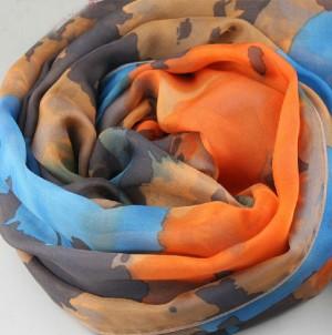 コーデ易い カラー レディース スカーフ マフラー
