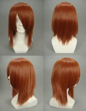 戦国BASARA 石田三成 耐熱新素材 コスプレウィッグ 長い斜め前髪