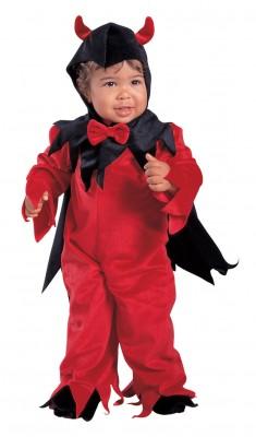 ハロウィン コスプレ デビル 衣装 赤悪魔 子供用コスチューム(男の子)