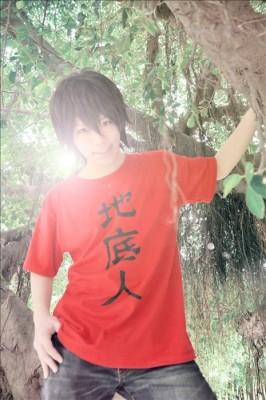 あの花 宿海仁太(やどみ じんた) / じんたん風 T-shirt マンガTシャツコスプレ衣装