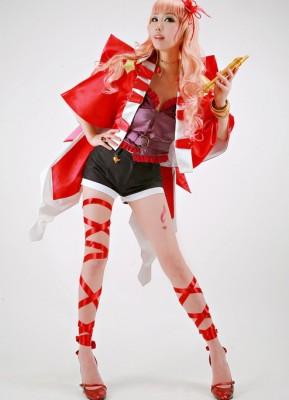 マクロスF 虚空歌姫 シェリル ノーム オベリスクVerのコスプレ衣装