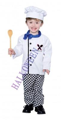 ハロウィン 衣装 子供用 可愛いコック ハロウィン コスチューム コスプレ(男の子)