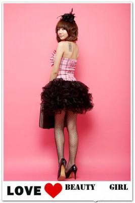 ふんわりプリンセスドレス 可愛いロリータ洋服 セクシーイブニングドレス